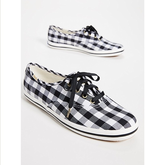 e7852bf9591 Keds Shoes - Keds x Kate Spade New York black gingham sneakers